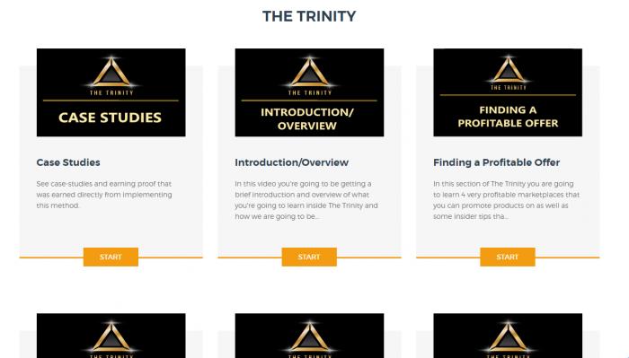 The Trinity Members Area