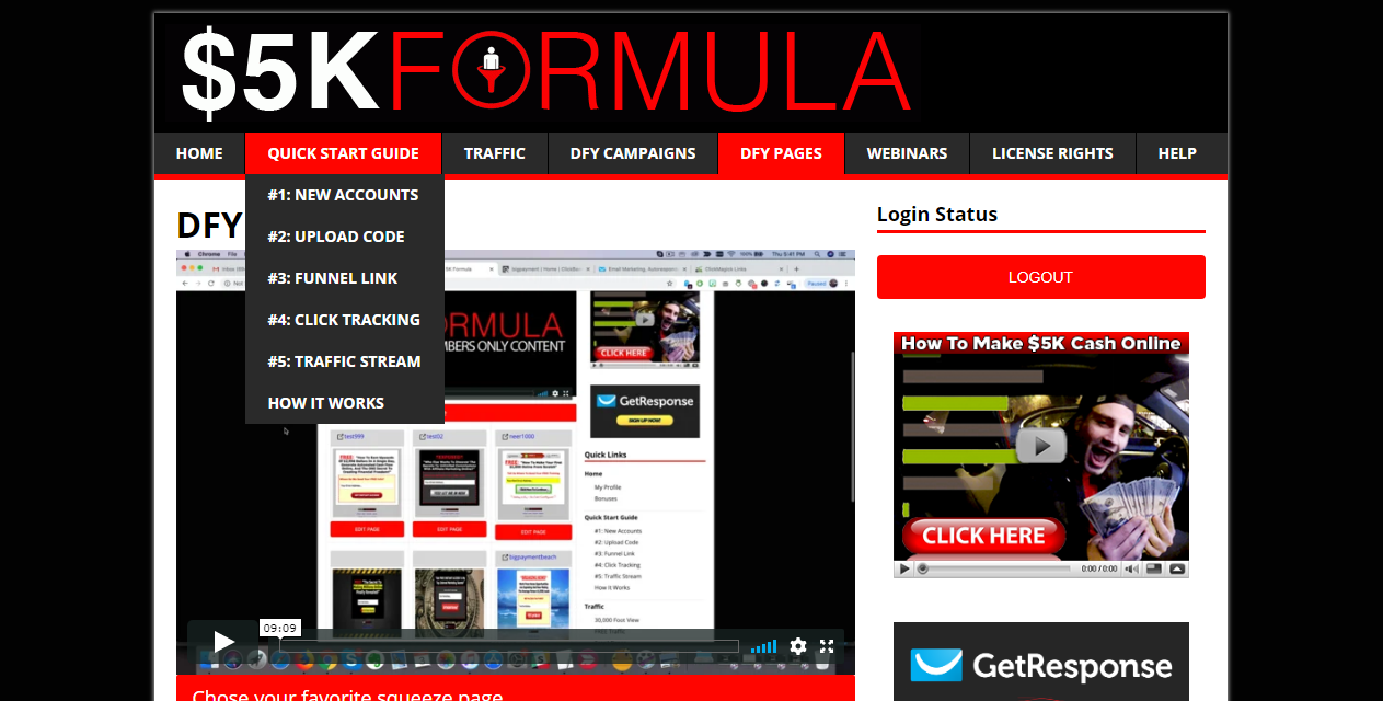 5k Formula Review
